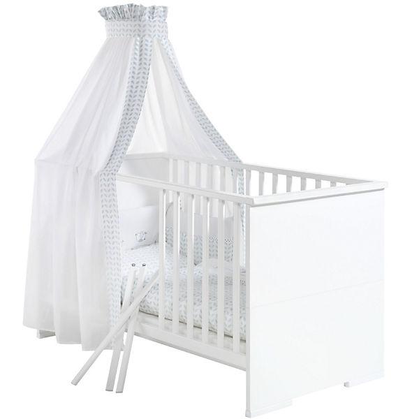 Kinderbett weiß 70x140  Kinderbett MAXIMO WEIß, weiß, 70 x 140 cm, Schardt | myToys