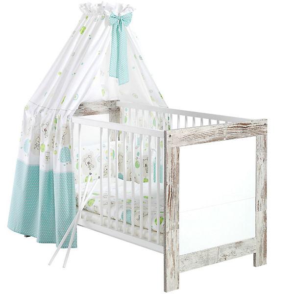 Kinderbett NORDIC CHIC shabby chic weiß 70 x 140 cm Schardt