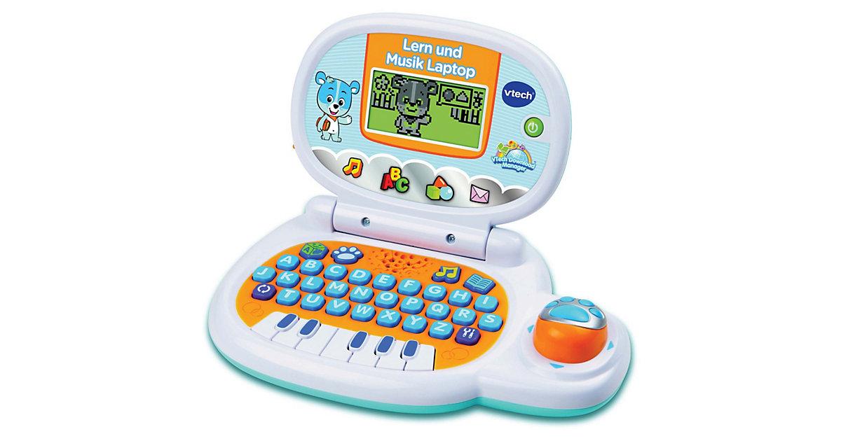 Lern und Musik Laptop, blau