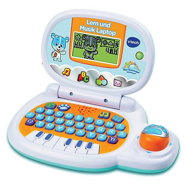 Lern Und Musik Laptop Blau Vtech Baby Mytoys