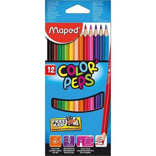 Maped Набор цветных карандашей, 12 цв. от Maped