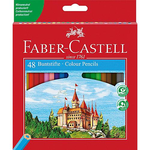 Карандаши цветные Faber-Castell, 48 цветов, с точилкой от Faber-Castell