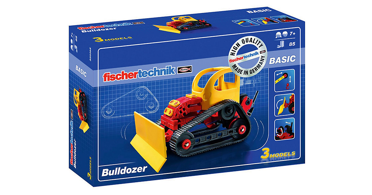 Fischertechnik BASIC ´´Bulldozer´´ - Baukasten
