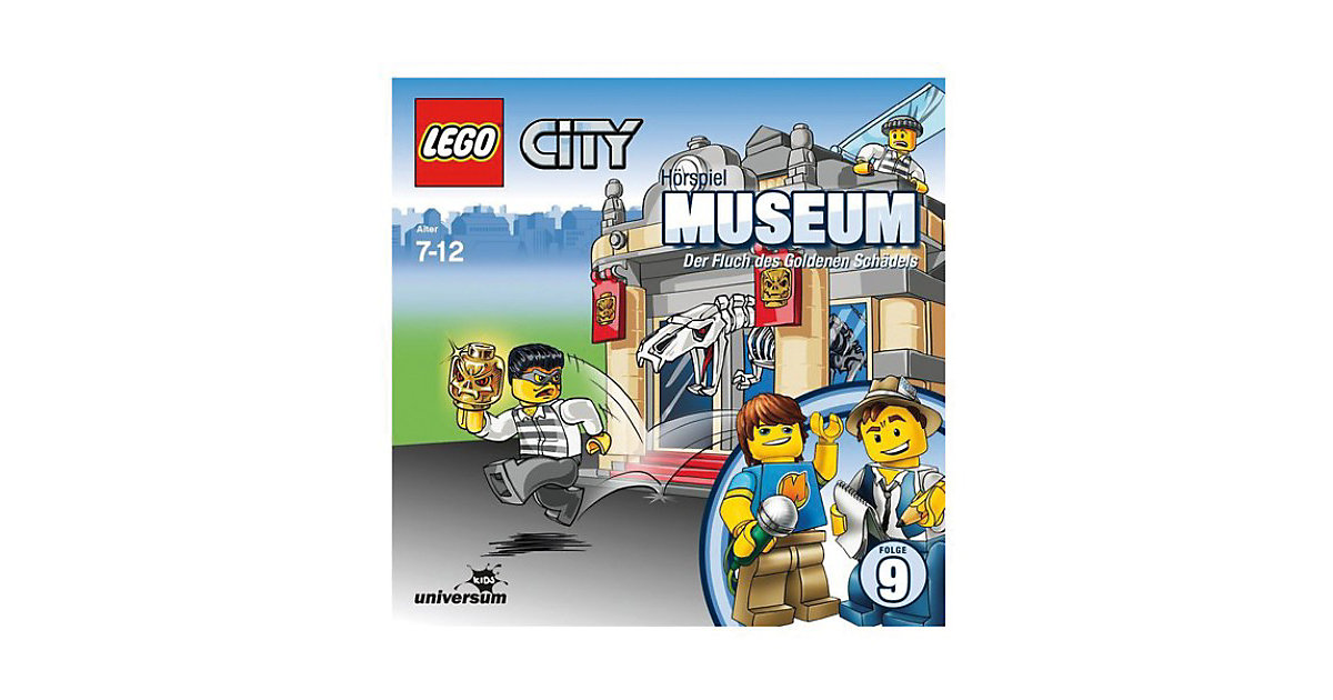 CD LEGO City 9 - Museum Hörbuch