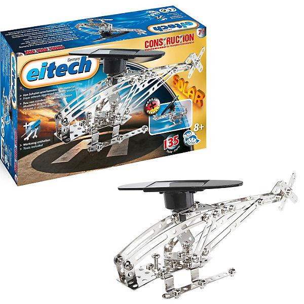 """Eitech C 71 SOLAR Metallbaukasten - """"Solar Hubschrauber """", eitech"""