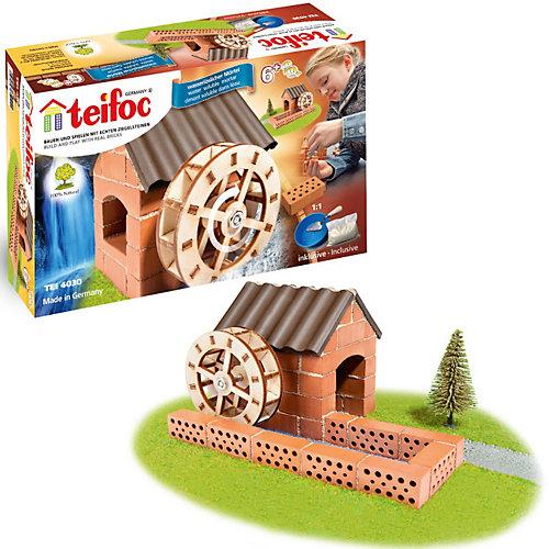 """Строительный набор """"Водяная мельница"""" от teifoc"""