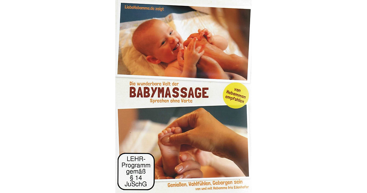 DVD Die wunderbare Welt der Babymassage - Sprec...