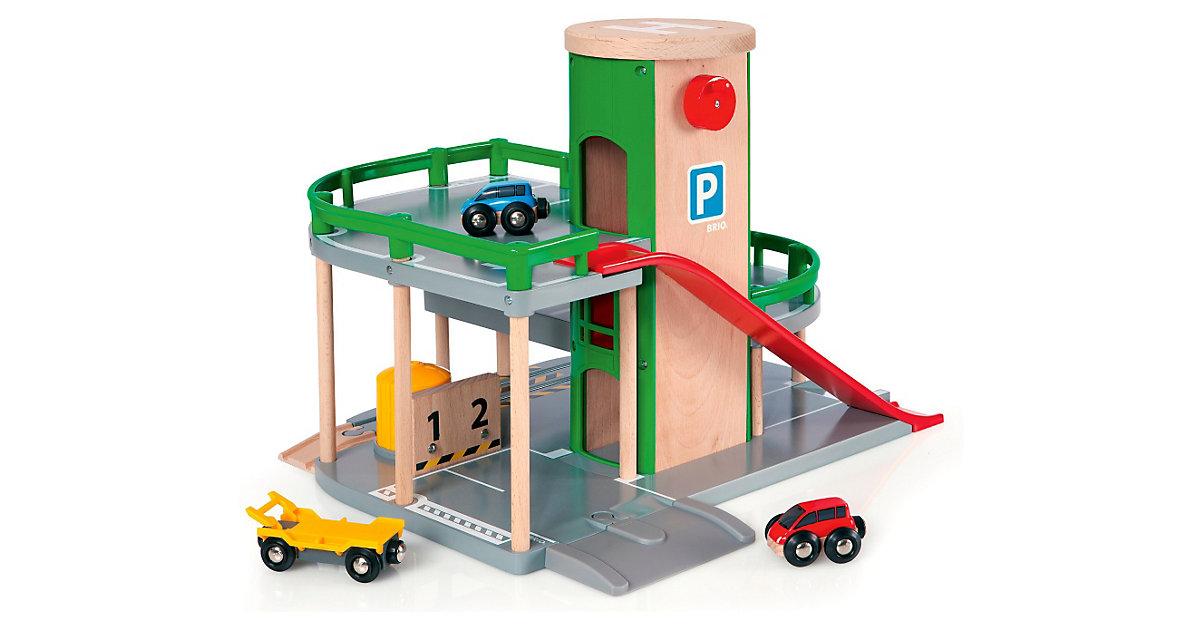 Brio · BRIO Parkhaus Straßen und Schienen