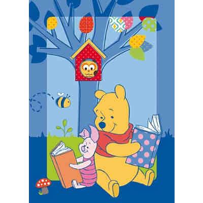 Kinderteppich Winnie the Pooh, Geschichte, 95 x 133 cm, Disney ...