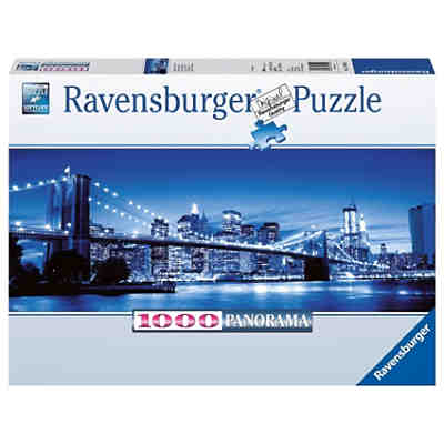 Panorama Puzzle 1000 Teile - Leuchtendes New York