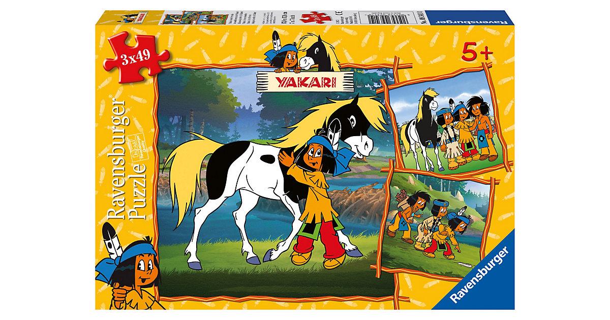 Ravensburger 09341 - Yakaris beste Freunde, Puzzle,