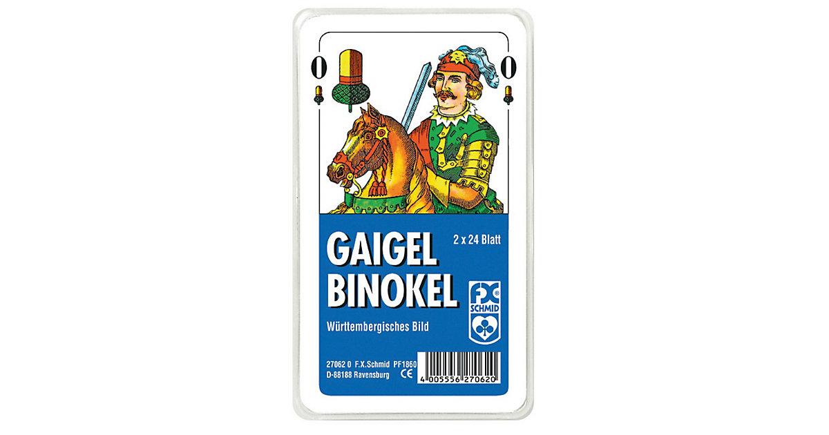 Gaigel/Binokel, württembergisches Bild