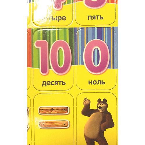 """Счет на магнитах """"Маша и Медведь"""" от Росмэн"""