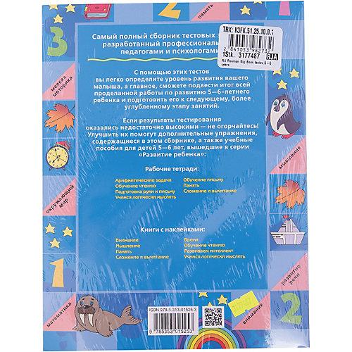 Большая книга тестов (5-6 лет) от Росмэн