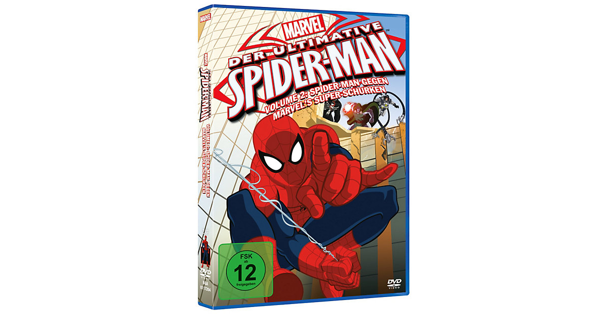 DVD Marvel Der ultimative Spider-Man 2: Spider-...
