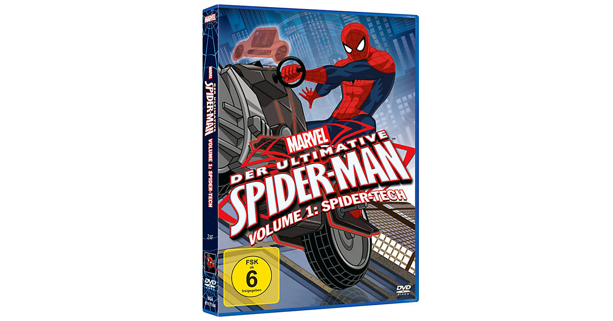 DVD Marvel Der ultimative Spider-Man 1: Spider-...
