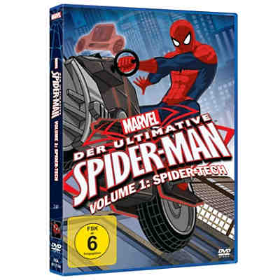 DVD Marvel Der ultimative Spider-Man 1: Spider-Tech