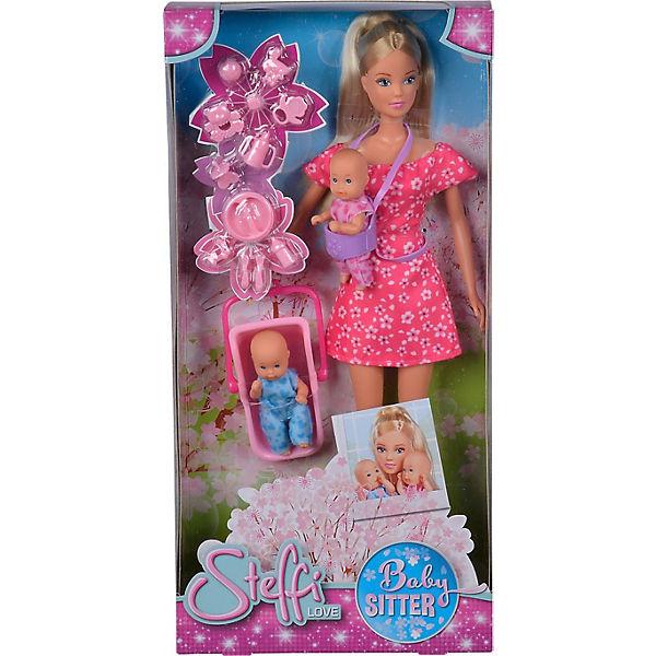 """Игровой набор с куклой Simba """"Steffi Love"""" Штеффи-няня, 29 см"""