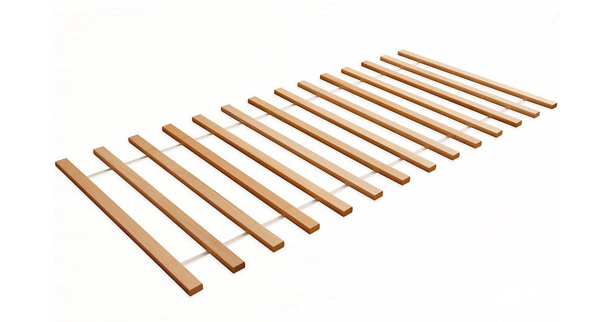 Rollrost, 90x200cm, Buche, massiv Gr. 90 x 200