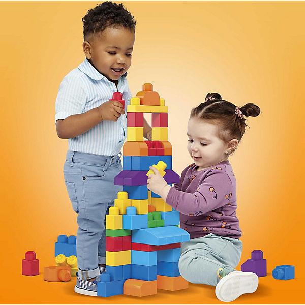 Конструктор 80 деталей First Builders, MEGA BLOKS