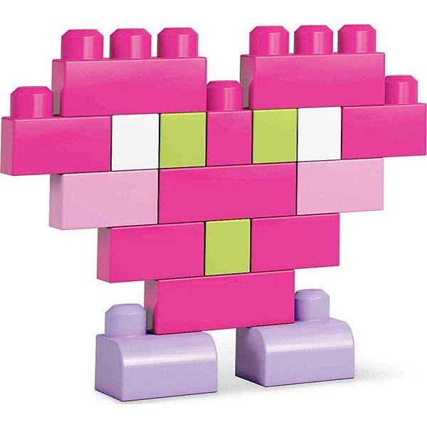 Конструктор 80 деталей First Builders, пастельных цветов, MEGA BLOKS