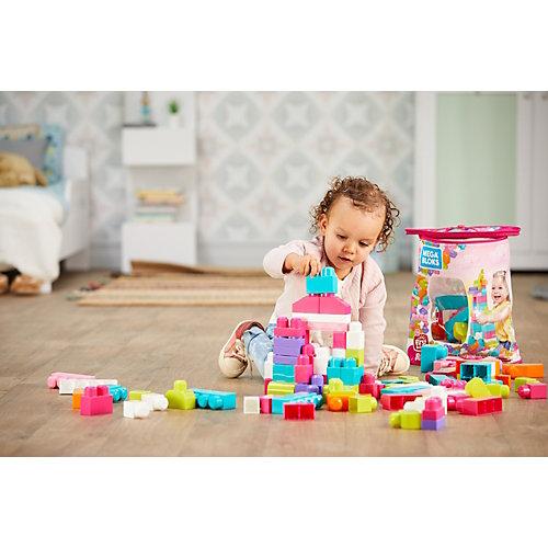 Конструктор Mega Blocks First Builders, 80 деталей от Mattel
