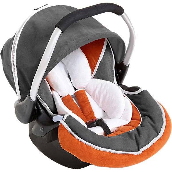 Babyschale Zero Plus Select, orange/grey, 2017