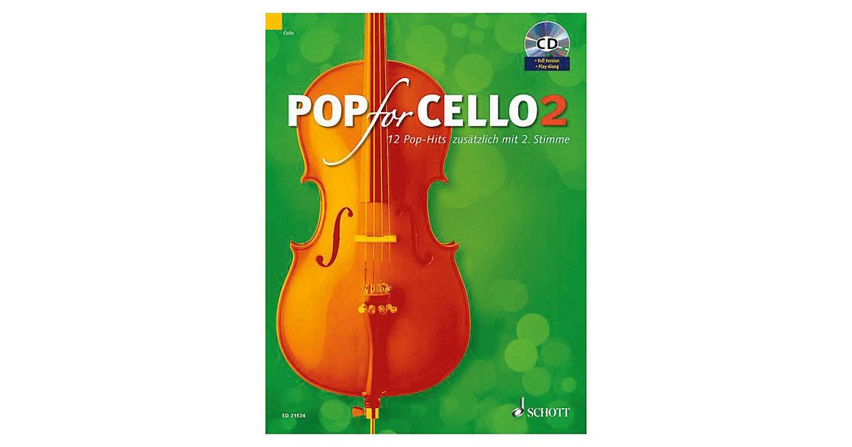 Pop For Cello, 1-2 Violoncelli, mit Audio-CD Er...