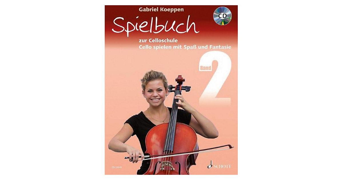 Spielbuch 1-3 Violoncelli, teilweise mit Klavie...
