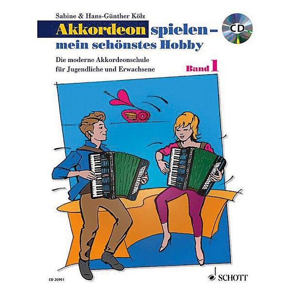Akkordeon spielen - mein schönstes Hobby, mit Audio-CD, Hans-Günther Kölz