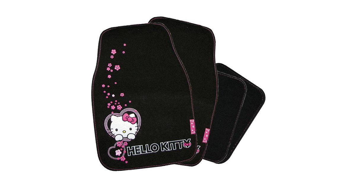 Kaufmann · Auto-Fußmatten-Set, Hello Kitty, 4-tlg.