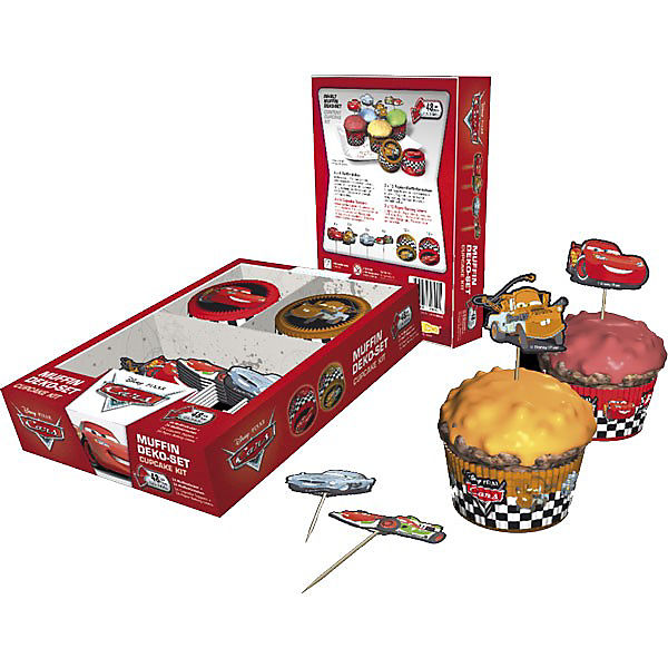 Muffinset Disney Cars 48-tlg.