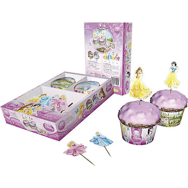 Dekoback 01-14-00729 Muffinset Disney Princess 48-tlg.