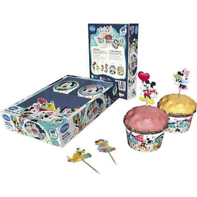 Dekoback 01-14-00731 Muffinset Mickey Mouse 48-tlg.