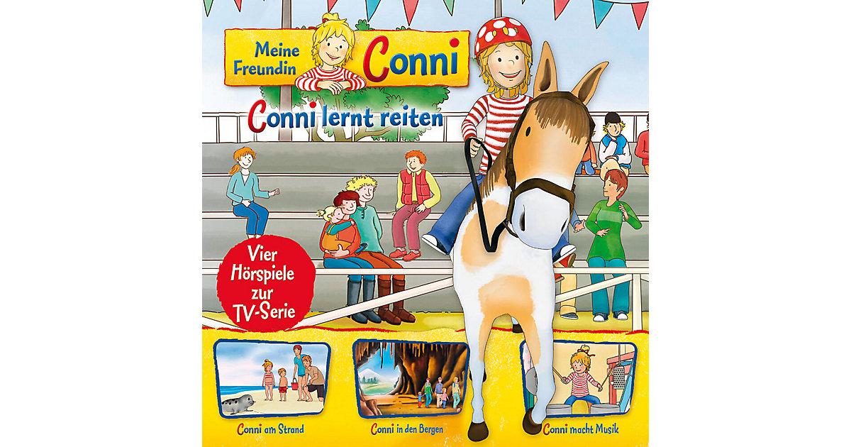 CD Conni 6 - lernt reiten/Strand/In den Bergen/Musik Hörbuch
