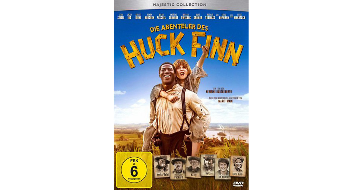 DVD Die Abenteuer des Huck Finn