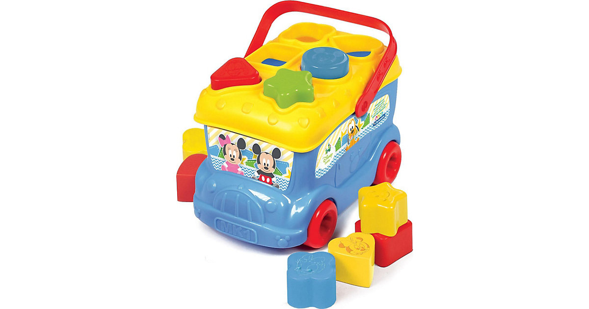 Mickey Mouse - Steckspiel Bus
