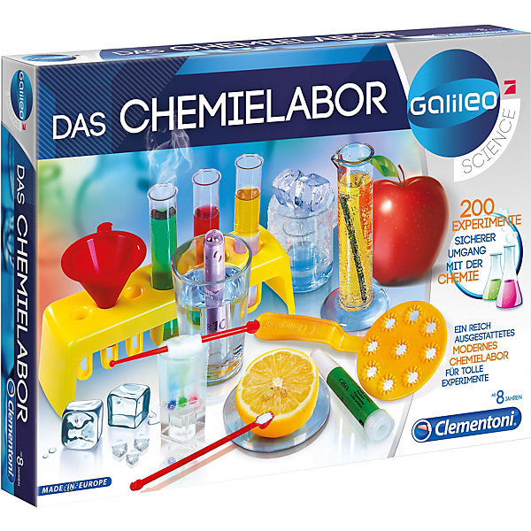 Galileo Das Chemielabor Galileo Mytoys