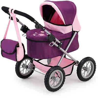 Puppenwagen Trendy Pflaume