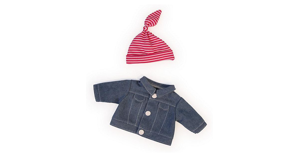 Puppenkleidung Jeansjacke und Mütze, 20cm