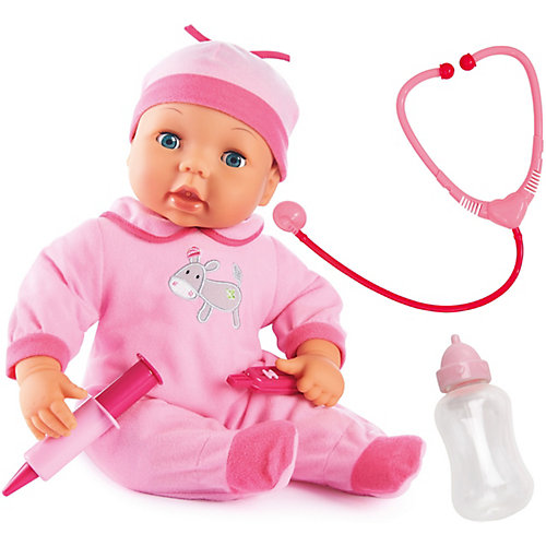 Кукла Bayer Малыш у доктора, 38 см от BAYER