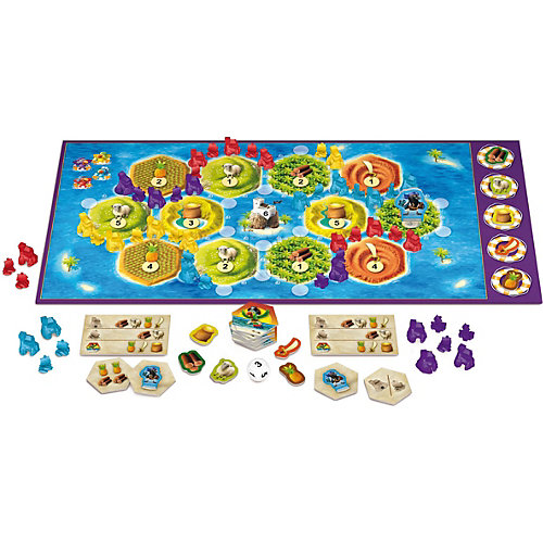 Игра Колонизаторы Junior, Hobby World