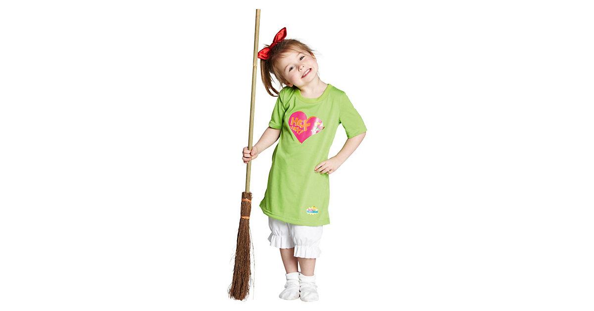 Kostüm Hexe Bibi Blocksberg, 3-tlg. hellgrün Gr. 116 Mädchen Kinder