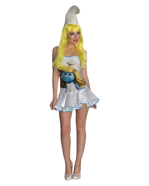 Kostüm Schlumpfine Dress (Erw.), Schlümpfe Schlümpfe Schlümpfe b60bf1