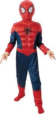 Kostüm Ultimate Spider Man mit Muskeln Gr. 116/128 Jungen Kinder