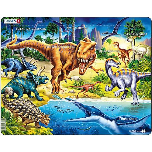 """Пазл Larsen """"Динозавры"""", 57 элементов от Larsen"""