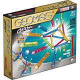 Магнитный конструктор Geomag Glitter, 30 деталей