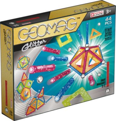 Geomag Glitter, 44-tlg.