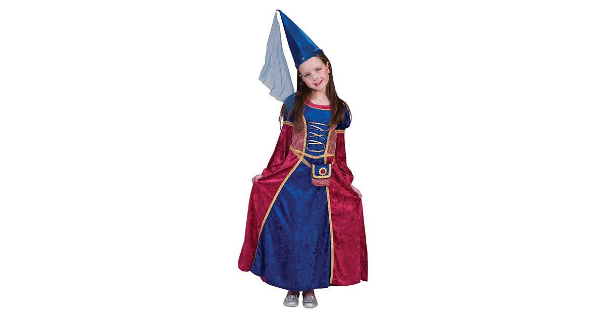 Kostüm Burgfräulein Gr. 116