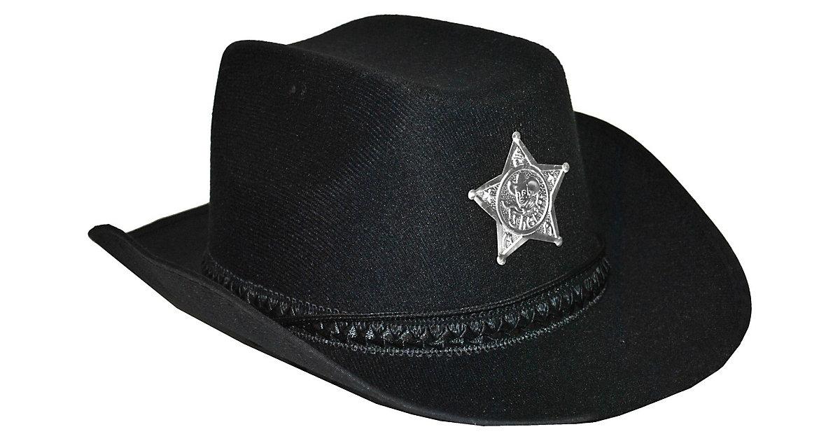 Cowboyhut schwarz Jungen Kinder